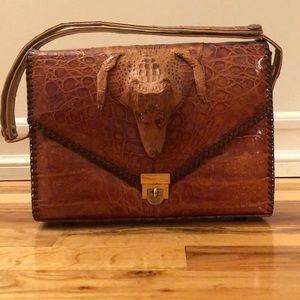 1950 vintage real alligator purse.